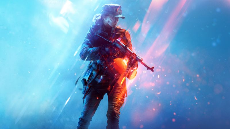 Battlefield V, PlayStation 4, Xbox One, PC Games, 2020 Games, Wallpaper