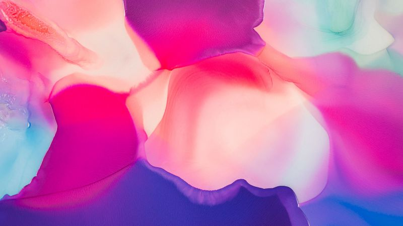 Liquid art, Colorful, Fluid, Pink, Colorful, Waves, Backgrounds, Wallpaper