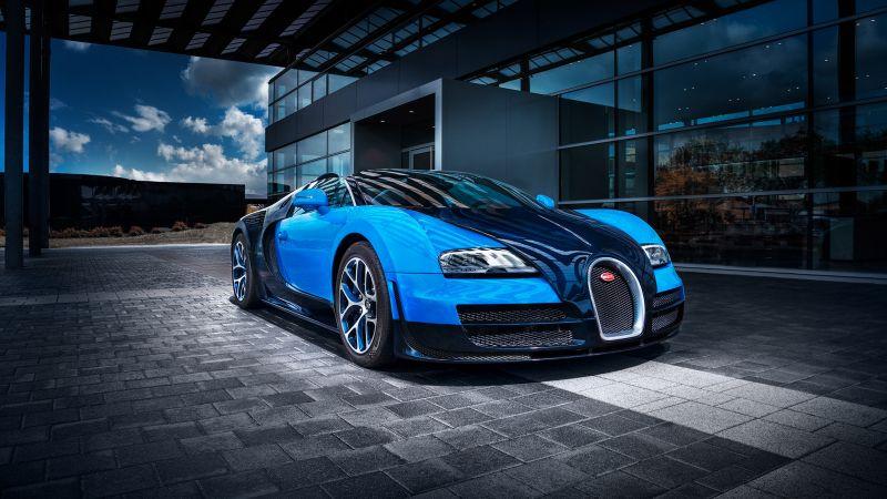 Bugatti Veyron Grand Sport Vitesse, Supercars, Wallpaper