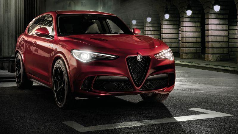 Alfa Romeo Stelvio Quadrifoglio, 2020, 5K, Wallpaper