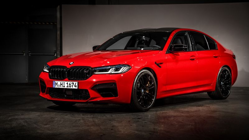 BMW M5 Competition, 2020, 5K, Wallpaper