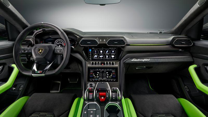 Lamborghini Urus Pearl Capsule, Interior, 2020, Wallpaper
