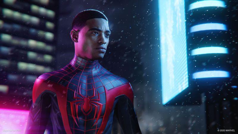 Miles Morales, Marvel's Spider-Man: Miles Morales, PlayStation 5, 2020 Games, Wallpaper