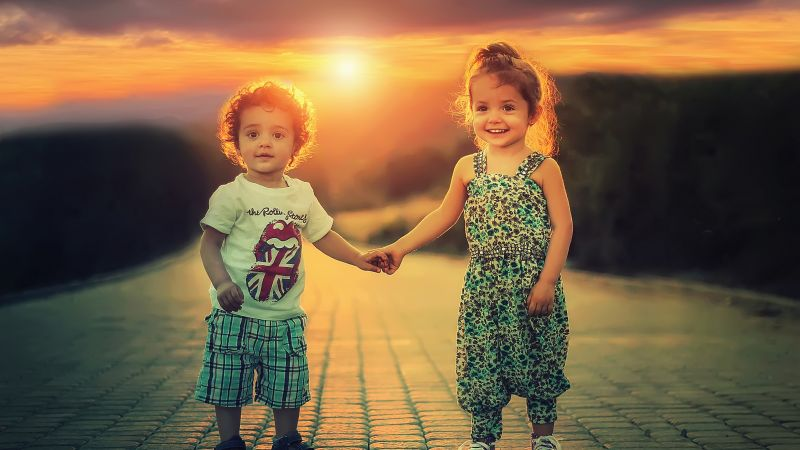 Cute children, Cute boy, Cute Girl, Playing kids, Toddlers, Siblings, Adorable, Wallpaper