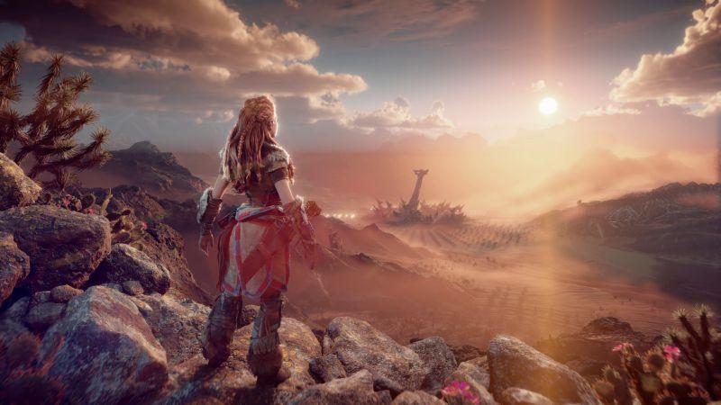 Horizon Forbidden West, Aloy, PlayStation 5, 2020 Games, Wallpaper