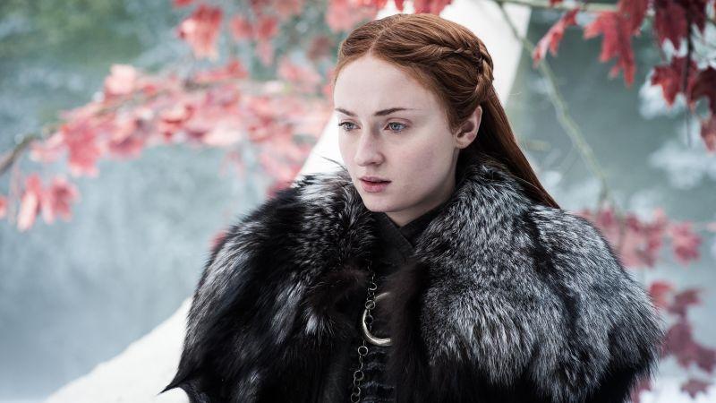 Sophie Turner, Sansa Stark, Game of Thrones, Wallpaper