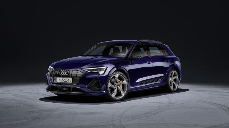 Audi e-tron S, Electric SUV, 2020, 5K, Wallpaper