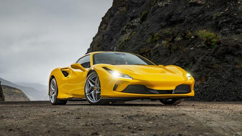 Ferrari F8 Spider, Supercars, 2020, 5K, Wallpaper