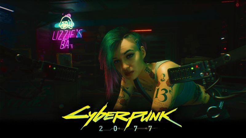Cyberpunk 2077, Judy Alvarez, Xbox Series X, Xbox One, PlayStation 4, Google Stadia, PC Games, 2020 Games, Wallpaper