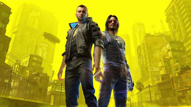 Cyberpunk 2077, Johnny Silverhand, Character V, Xbox Series X, Xbox One, PlayStation 4, Google Stadia, PC Games, 2020 Games, Wallpaper
