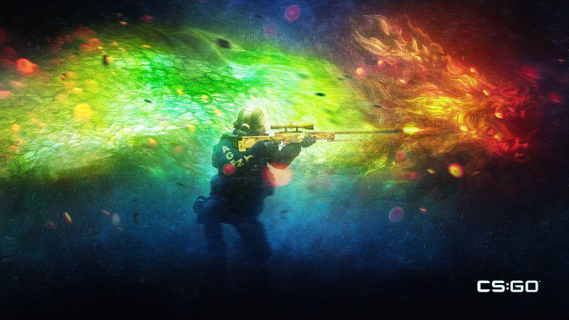 Counter-Strike: Global Offensive, CS GO, 2020 Games, Sniper, Wallpaper