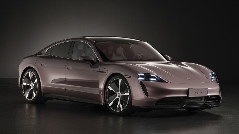 Porsche Taycan, Electric SUV, 2020, 5K, Wallpaper