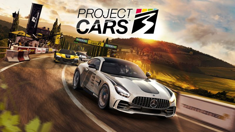 Project CARS 3, Mercedes-AMG GT R, PC Games, PlayStation 4, Xbox One, 2020 Games, 5K, 8K, Wallpaper