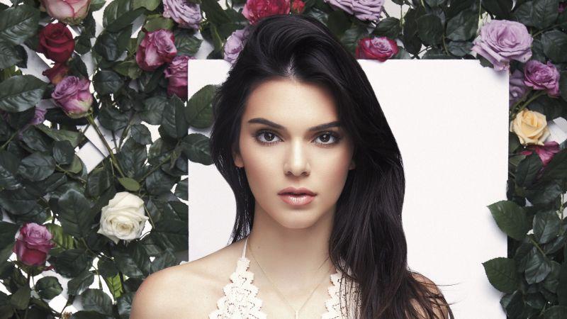 Kendall Jenner, Portrait, Beautiful model, Wallpaper
