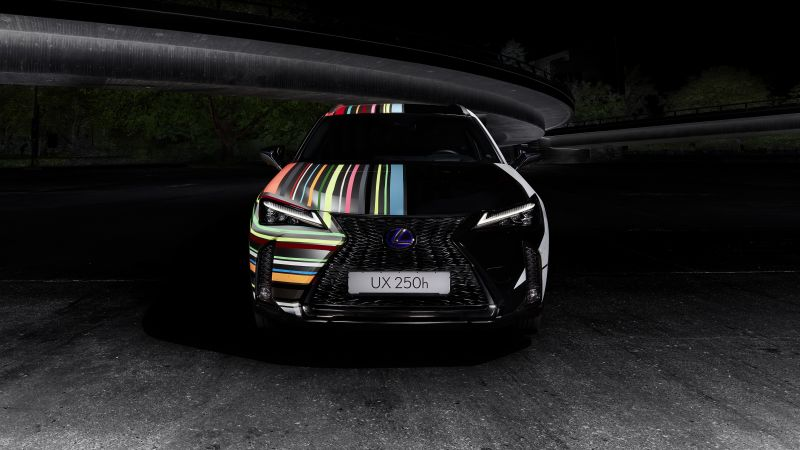 Lexus UX 250h F SPORT, Rene Turrek, Dark, Wallpaper