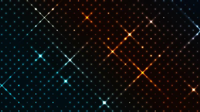 Pattern, Glowing, Colorful, Dark, Dots, Wallpaper