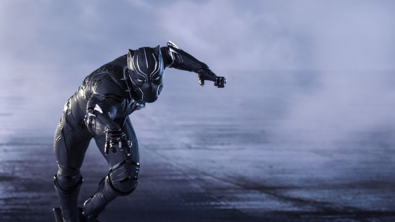 Black Panther, Marvel Superheroes, Wallpaper