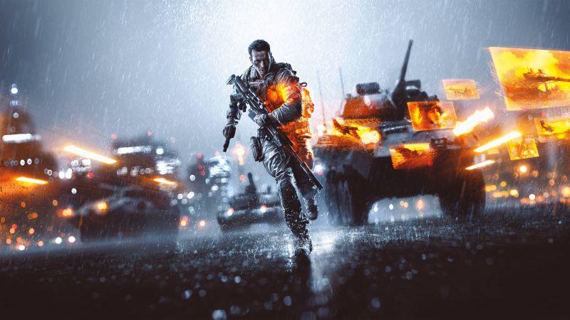 Battlefield 4, PlayStation 4, PlayStation 3, Xbox One, Xbox 360, PC Games, 5K, 8K, Wallpaper