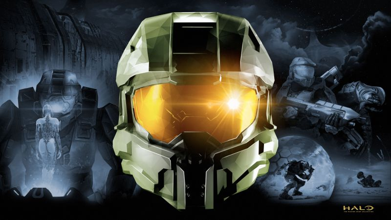 Halo: The Master Chief Collection, Xbox One, PC Games, Master Chief, Wallpaper