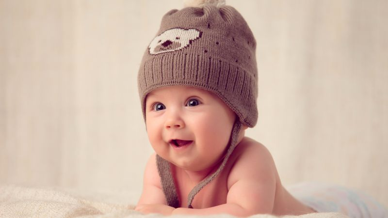 Cute boy, Toddler, Adorable, Smile, 5K, 8K, Wallpaper