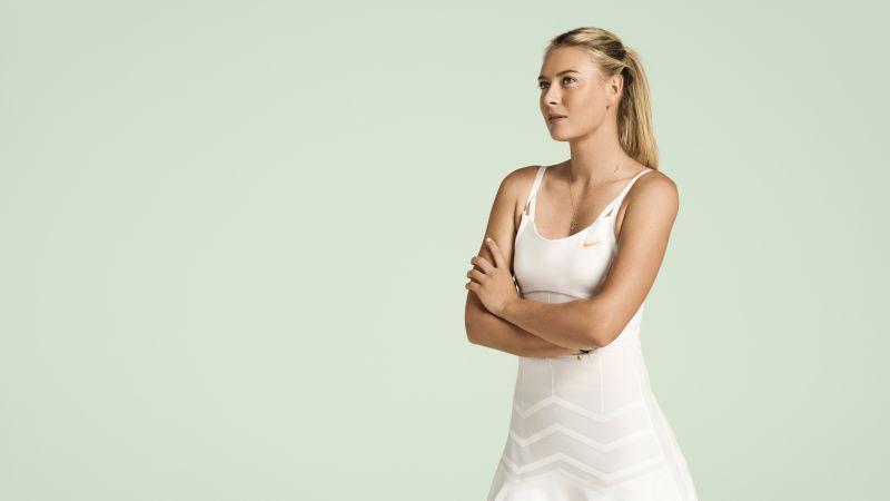 Maria Sharapova, Russian tennis player, 5K, 8K, Wallpaper
