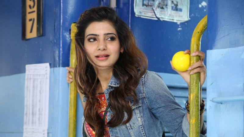 Samantha, Indian actress, Telugu Actress, Telugu movies, Beautiful actress, 5K, Wallpaper