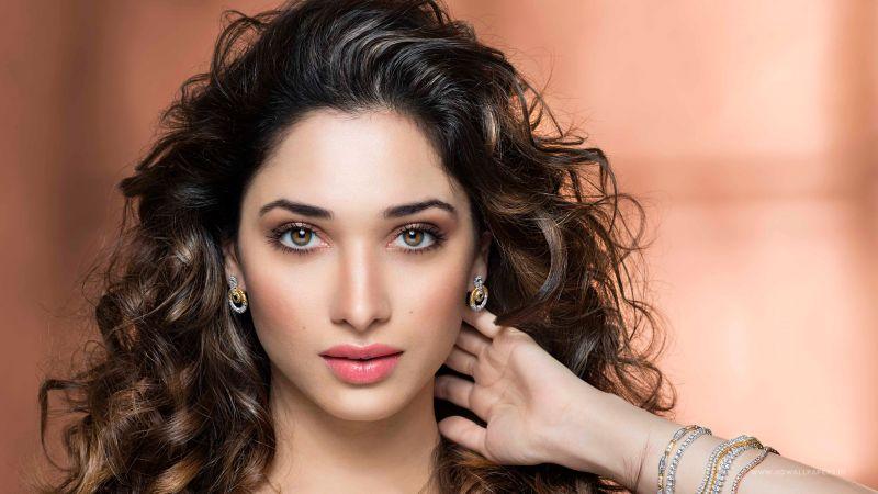 Tamanna Bhatia, Beautiful actress, Portrait, Indian actress, Bollywood Heroine, Wallpaper