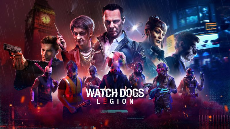 Watch Dogs: Legion, PlayStation 5, PlayStation 4, Xbox Series X, Xbox One, Google Stadia, PC Games, 2020 Games, 5K, 8K, Wallpaper