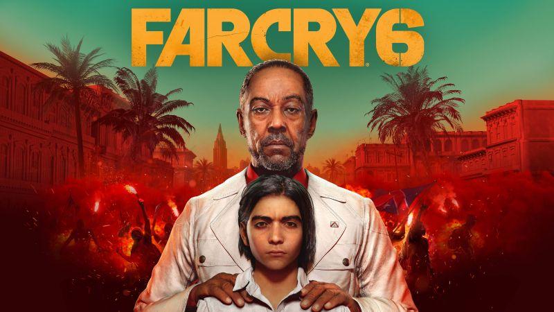 Far Cry 6, Antón Castillo, Giancarlo Esposito, Diego, Anthony Gonzalez, PC Games, PlayStation 4, PlayStation 5, Xbox One, Xbox Series X, Google Stadia, Wallpaper