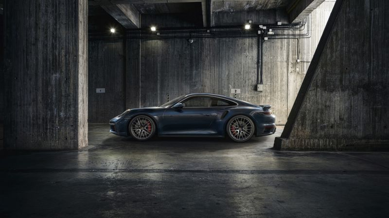 Porsche 911 Turbo, 2020, 5K, Wallpaper