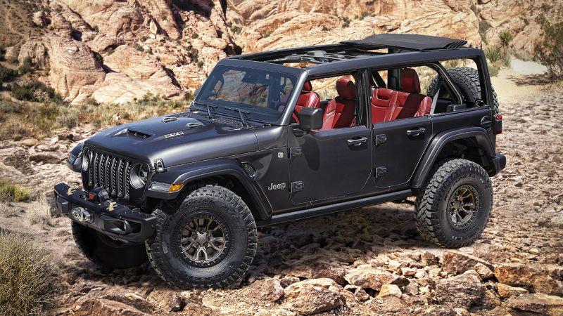 Jeep Wrangler Rubicon 392 Concept, 2020, Wallpaper