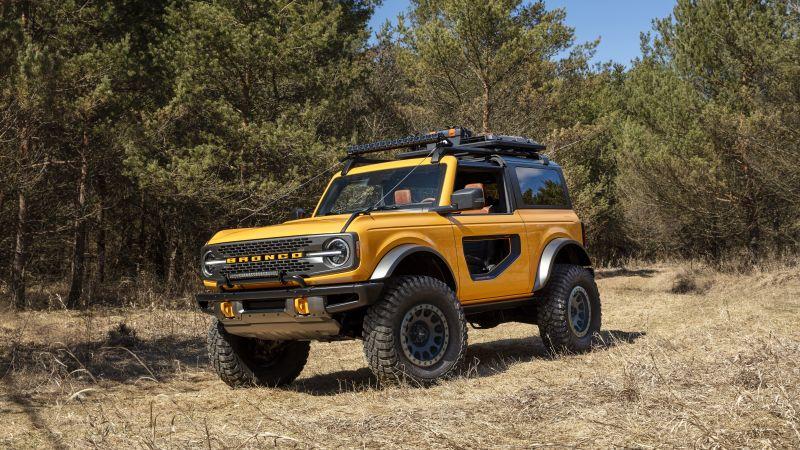 Ford Bronco, 2021, 5K, 8K, Wallpaper