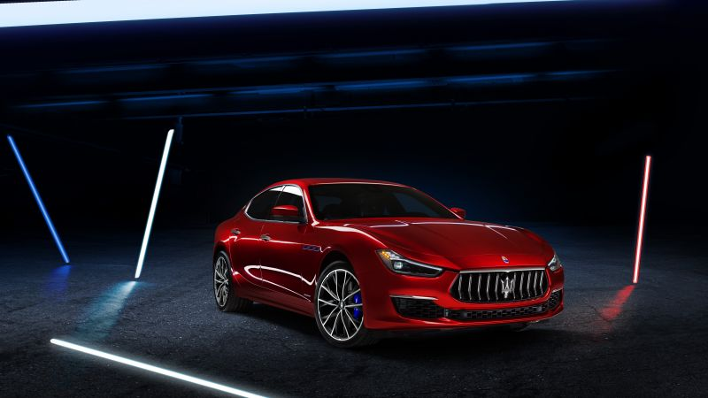 Maserati Ghibli GranLusso Hybrid, 2020, Electric cars, 5K, 8K, Wallpaper