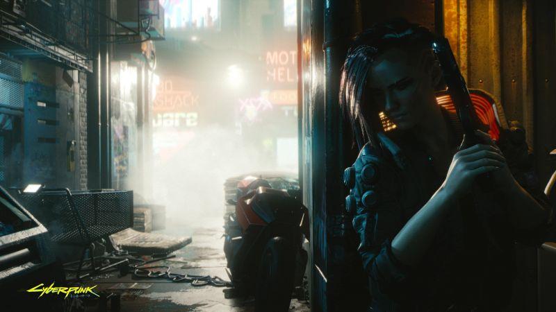 Cyberpunk 2077, Female V, Gameplay, Xbox Series X, Xbox One, PlayStation 4, Google Stadia, PC Games, 2020 Games, Wallpaper