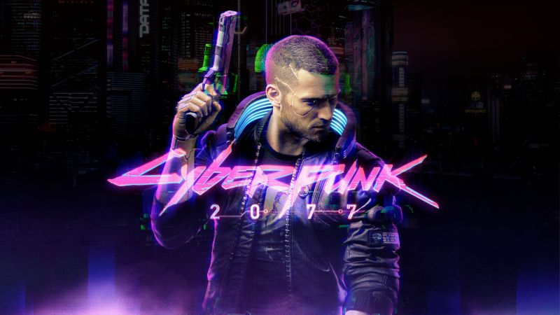 Cyberpunk 2077, Character V, Neon, Xbox Series X, Xbox One, PlayStation 4, Google Stadia, PC Games, 2020 Games, Wallpaper