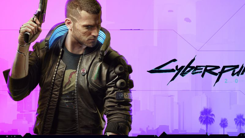 Cyberpunk 2077, Character V, Xbox Series X, Xbox One, PlayStation 4, Google Stadia, PC Games, 2020 Games, Wallpaper