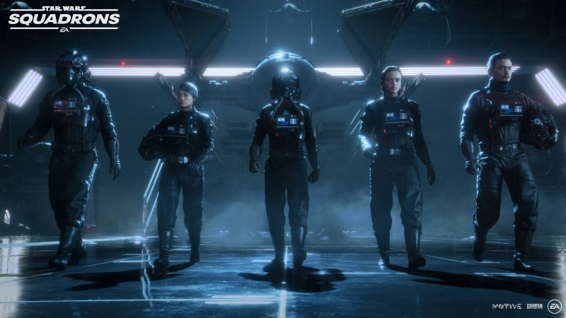 Star Wars: Squadrons, Titan Squadron, Starfighter squadron, PC Games, PlayStation 4, Xbox One, 2020 Games, Wallpaper