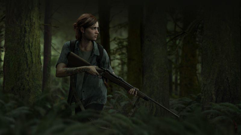 The Last of Us Part II, Ellie, PlayStation 4, 2020 Games, Wallpaper