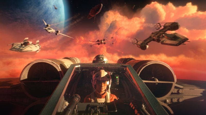 Star Wars: Squadrons, PC Games, PlayStation 4, Xbox One, 2020 Games, Wallpaper