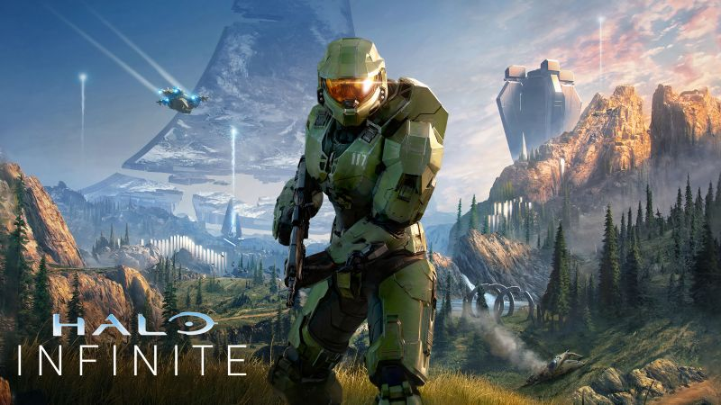 Halo Infinite, Master Chief, PC Games, Xbox Series X and Series S, Xbox One, Wallpaper