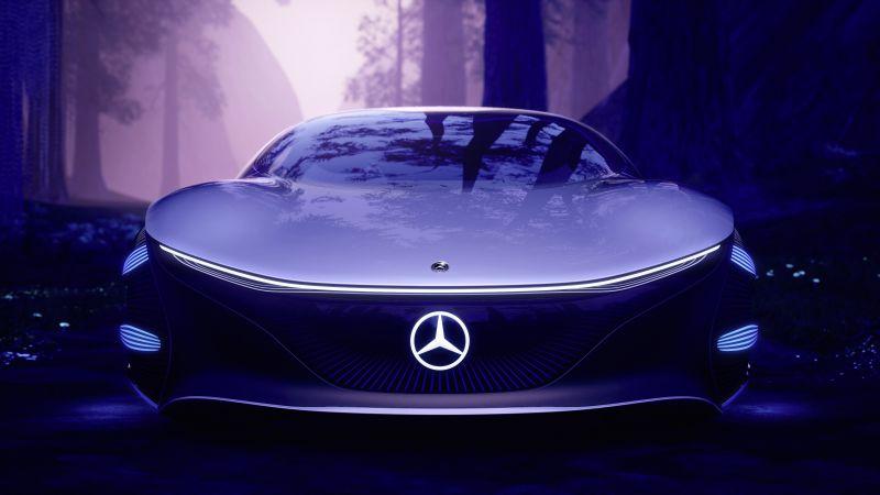 Mercedes-Benz VISION AVTR, Electric cars, Concept cars, 2020, 5K, Wallpaper