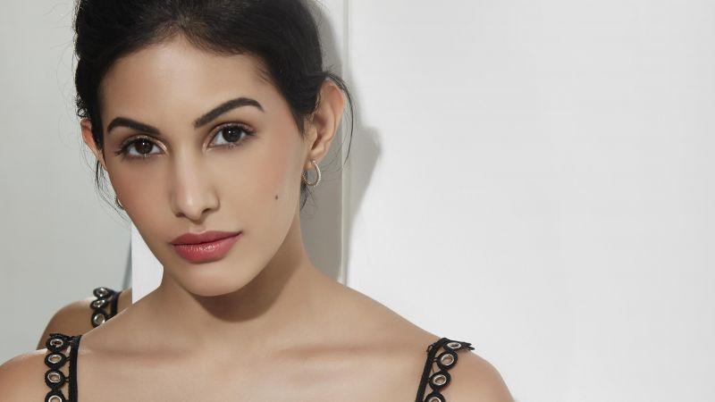 Amyra Dastur, Portrait, Indian actress, Bollywood actress, Wallpaper
