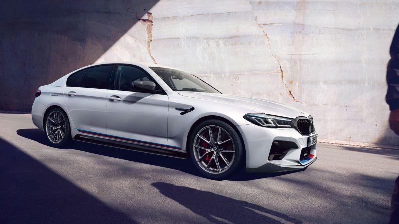 BMW M5 Competition, BMW M Performance Parts, 2020, 5K, 8K, Wallpaper