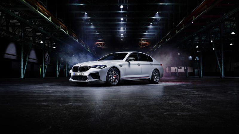 BMW M5 Competition, BMW M Performance Parts, 2020, 5K, Wallpaper