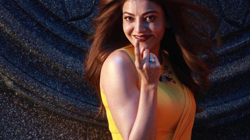 Kajal Aggarwal, Telugu Actress, Indian actress, Wallpaper