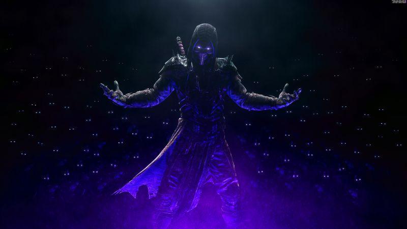 Noob Saibot, Night King, Mortal Kombat, Dark, 5K, 8K, Wallpaper