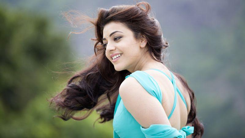 Kajal Aggarwal, Indian actress, Telugu Actress, 5K, Wallpaper