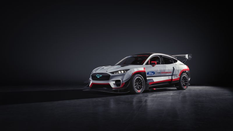 Ford Mustang Mach-E 1400 Prototype, Ford Performance, Prototype, 5K, 2020, Wallpaper