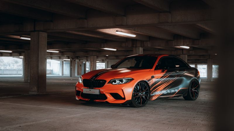 BMW M2 Competition, 2020, 5K, Wallpaper