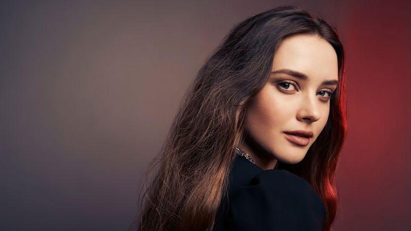 Katherine Langford, American actress, Beautiful actress, Portrait, 2020, Wallpaper